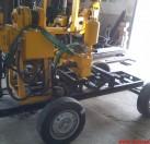 四轮轮式钻井机