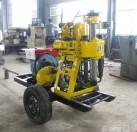 二轮轮式钻井机