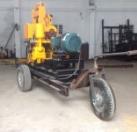 三轮轮式钻井机